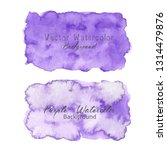 purple abstract watercolor... | Shutterstock .eps vector #1314479876