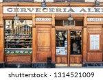 madrid  spain   02 09 2019  ...   Shutterstock . vector #1314521009