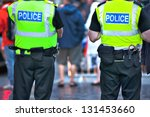 police officers on duty | Shutterstock . vector #131453660