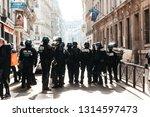 paris   france 02.16.2019  acte ... | Shutterstock . vector #1314597473