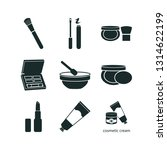 9 cosmetics icon set | Shutterstock .eps vector #1314622199