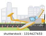 transportation concept cartoon | Shutterstock .eps vector #1314627653