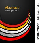 curved colored stripes with... | Shutterstock .eps vector #1314630233
