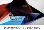 abstract color triangles...   Shutterstock .eps vector #1314645599