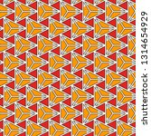 contemporary geometric pattern. ... | Shutterstock .eps vector #1314654929