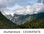 rv dwarfed by the mountains... | Shutterstock . vector #1314655676
