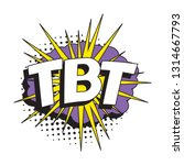 abbreviation tbt  throwback... | Shutterstock .eps vector #1314667793
