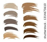 abstract brown shades big...   Shutterstock .eps vector #1314673610