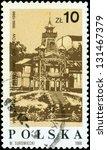 poland   circa 1986  a stamp... | Shutterstock . vector #131467379