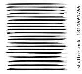 long thin brushstrokes of black ...   Shutterstock .eps vector #1314694766