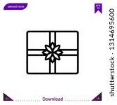 giftbox vector icon. best...