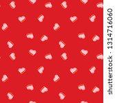 valentines hearts seamless...   Shutterstock .eps vector #1314716060