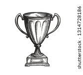 winner trophy award. win ... | Shutterstock .eps vector #1314728186