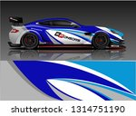 car wrap design vector  truck... | Shutterstock .eps vector #1314751190