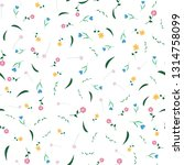 seamless pattern  repeating... | Shutterstock .eps vector #1314758099