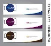 vector abstract web banner... | Shutterstock .eps vector #1314796166