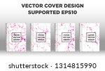 mixture of acrylic paints.... | Shutterstock .eps vector #1314815990