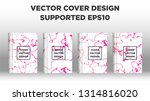 mixture of acrylic paints.... | Shutterstock .eps vector #1314816020