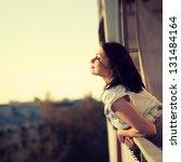 Beautiful Girl Enjoying The...