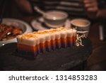 dinning in chinese restaurant | Shutterstock . vector #1314853283