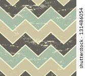 vintage style seamless chevron... | Shutterstock .eps vector #131486054