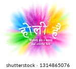 colorful explosion for happy... | Shutterstock .eps vector #1314865076
