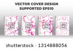mixture of acrylic paints.... | Shutterstock .eps vector #1314888056