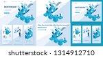 set template article  landing... | Shutterstock .eps vector #1314912710