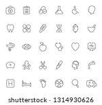 set of healthcare and medicine... | Shutterstock .eps vector #1314930626