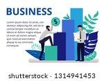 vector illustration in flat... | Shutterstock .eps vector #1314941453
