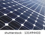 solar panels in a photovoltaic... | Shutterstock . vector #131494433