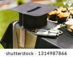 graduation party table setting | Shutterstock . vector #1314987866