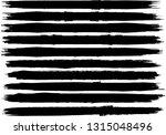 grunge paint roller . vector... | Shutterstock .eps vector #1315048496