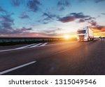 Loaded European Truck On...