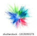 multi colored powder explosion...   Shutterstock . vector #1315050173