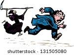 vector illustration of death... | Shutterstock .eps vector #131505080