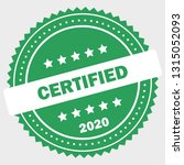 simple certified logo design... | Shutterstock .eps vector #1315052093