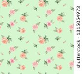 watercolor floral background... | Shutterstock . vector #1315054973