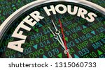 after hours trading stock...   Shutterstock . vector #1315060733