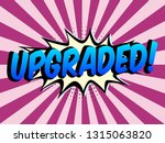 speech bubbles with on color in ... | Shutterstock .eps vector #1315063820