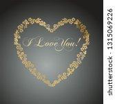 decorative heart. love symbol.... | Shutterstock . vector #1315069226