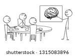 cartoon stick figure drawing... | Shutterstock .eps vector #1315083896