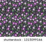 floral pattern. pretty flowers... | Shutterstock .eps vector #1315099166