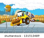 the cartoon digger  ... | Shutterstock . vector #131513489