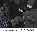 streaming games concept  top... | Shutterstock . vector #1315184846