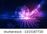 vector digital global... | Shutterstock .eps vector #1315187720