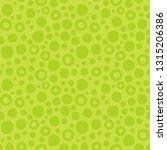 cute abstract green seamless... | Shutterstock .eps vector #1315206386