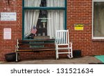 a small town antique shop with... | Shutterstock . vector #131521634
