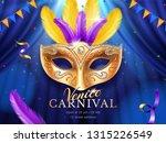 carnival or masquerade... | Shutterstock .eps vector #1315226549