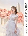 beautiful bride in an expensive ... | Shutterstock . vector #1315245200